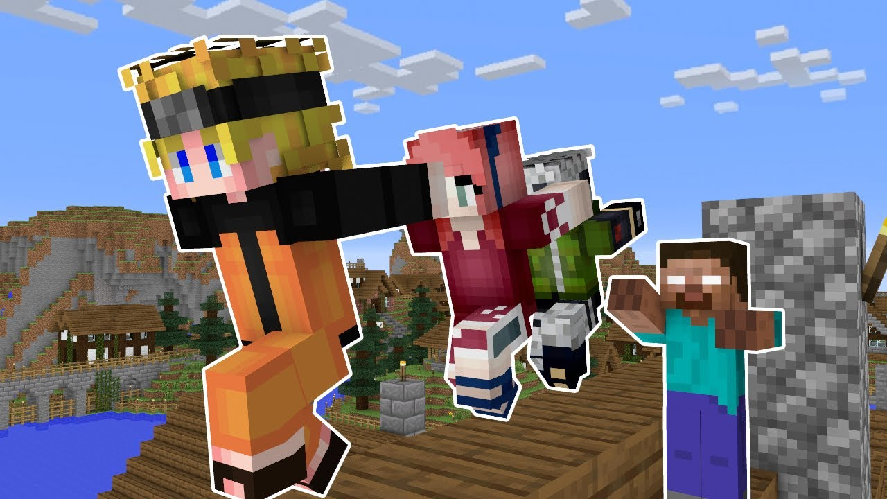 Monster School : Naruto Battle Fight - Minecraft Animation Epic