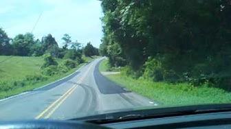 Driving Into Sandy Ridge North Carolina