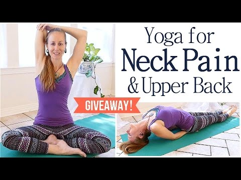 Easy Neck Back Pain Stretches Exercises 10 Minute Beginners Yoga Routine Part 3 Youtube