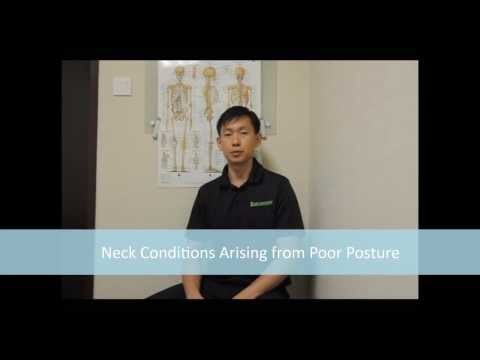Neck Conditions Arising from Poor Posture - Part 1