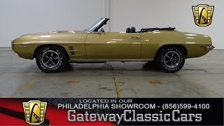 1969 Pontiac Firebird, Gateway Classic Cars Philadelphia - #291