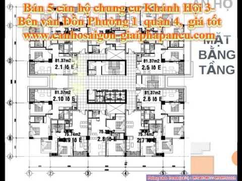 Bán 5 căn hộ chung cư Khánh Hội 3, quận 4, giá rẻ