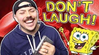 You Laugh, You Lose BLOOD Spongebob Edition