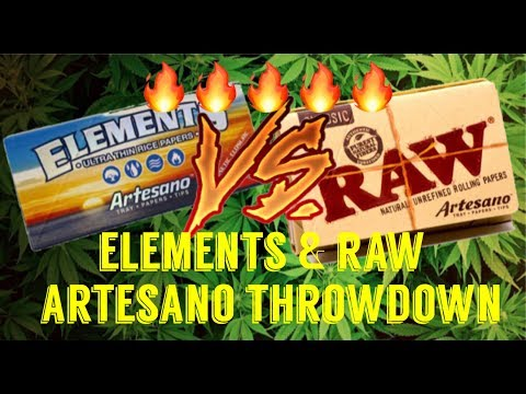 FULL MELT FUSION - RAW & ELEMENTS ARTESANO PACK - UNBOXING & REVIEW #RawLife #RawLife