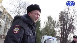 Нарушители в погонах. Город Брянск.