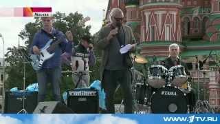 Андрей Давидян - Репортаж с Красной площади (1 канал, 28.08.14)