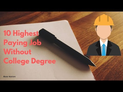 10 Highest Paying Job Without College Degree || Base Nation