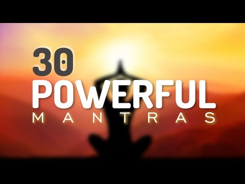 30 Incredible Mantras for Health, Happiness, Healing, Positive Energy & Prosperity