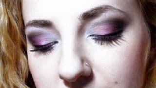 Вечерний макияж в черно розовых тонах  ЗАПРОС!!!