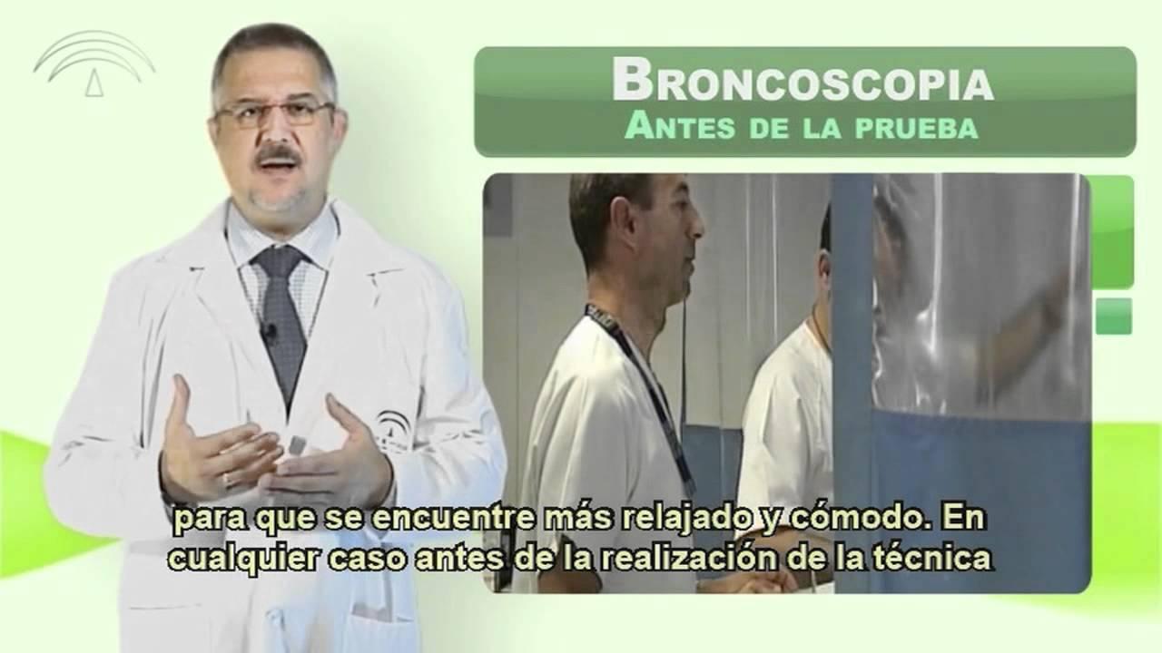 Broncoscopia (Técnicas diagnósticas) - YouTube