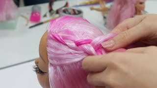 Kuaför Oldum Müşteriyi Trolledim! En Güzel Bebek Saç Bakımı Saç Boyama Bidünya Oyuncak