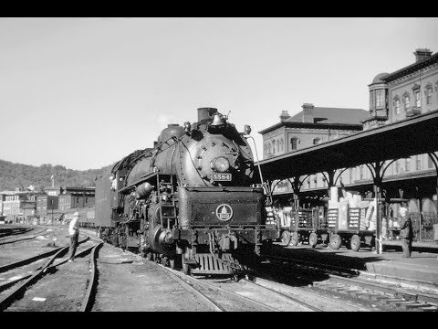 Baltimore & Ohio Railroad Passenger Train