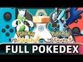 Pokémon Let's Go Pikachu & Eevee | 100% Complete Pokédex (All Forms & Shiny)
