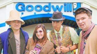$25 Goodwill Challenge! Dressing Our Friends in Ridiculous Outfits!