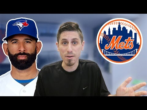 JOSE BAUTISTA SIGNS WITH NEW YORK METS REACTION