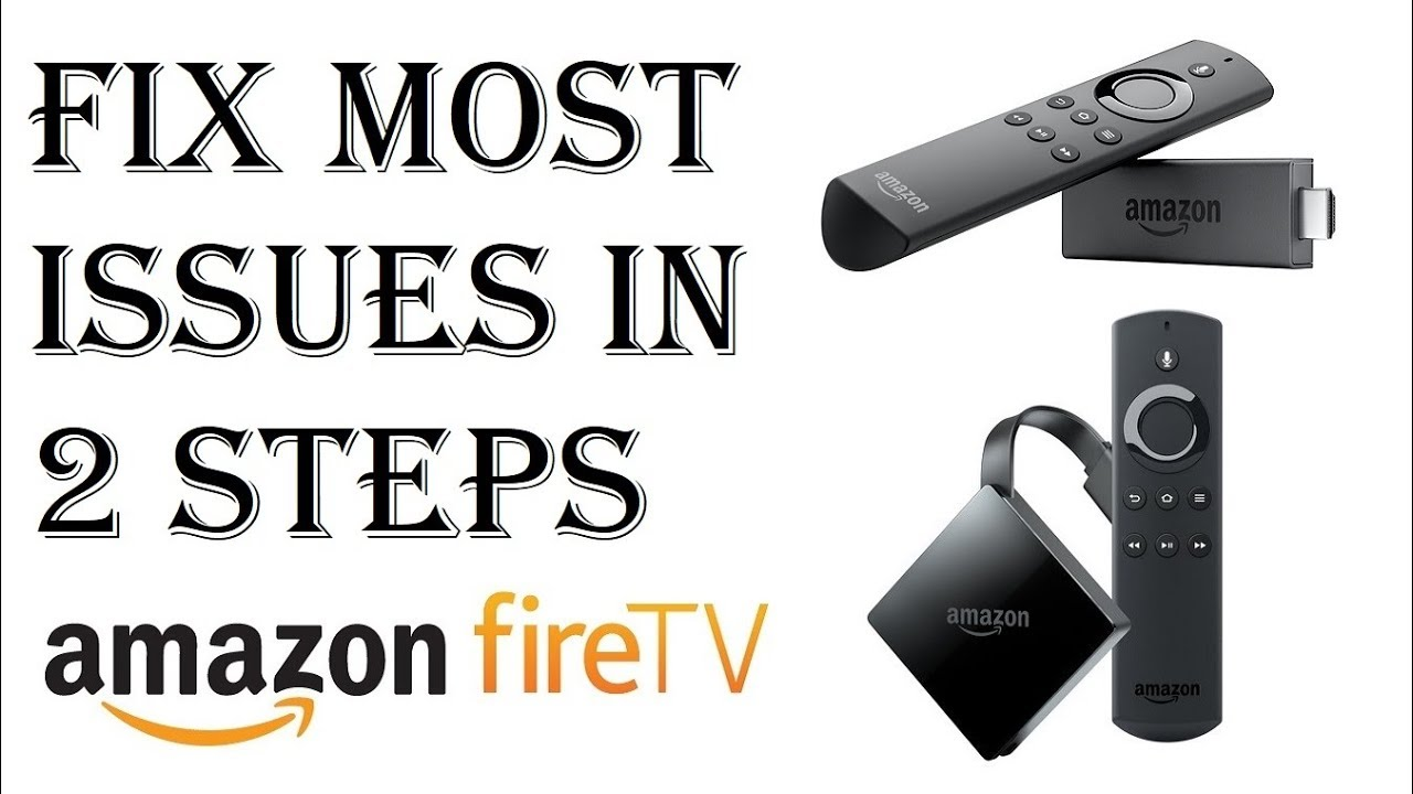 How To Fix Almost All Amazon Fire Stick TV Issues/Problems in Just 2