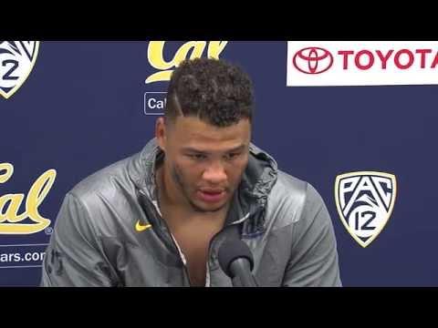 Cal Football: Brennan Scarlett - Arizona Post Game (9/20/14)
