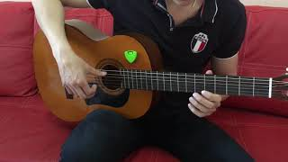 Крестный отец - видео урок( как играть)