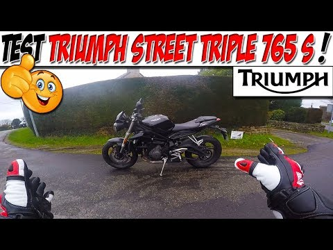 #Moto Vlog 125 : TEST TRIUMPH STREET TRIPLE 765 S / Je Remplace ma Street R ? 😆