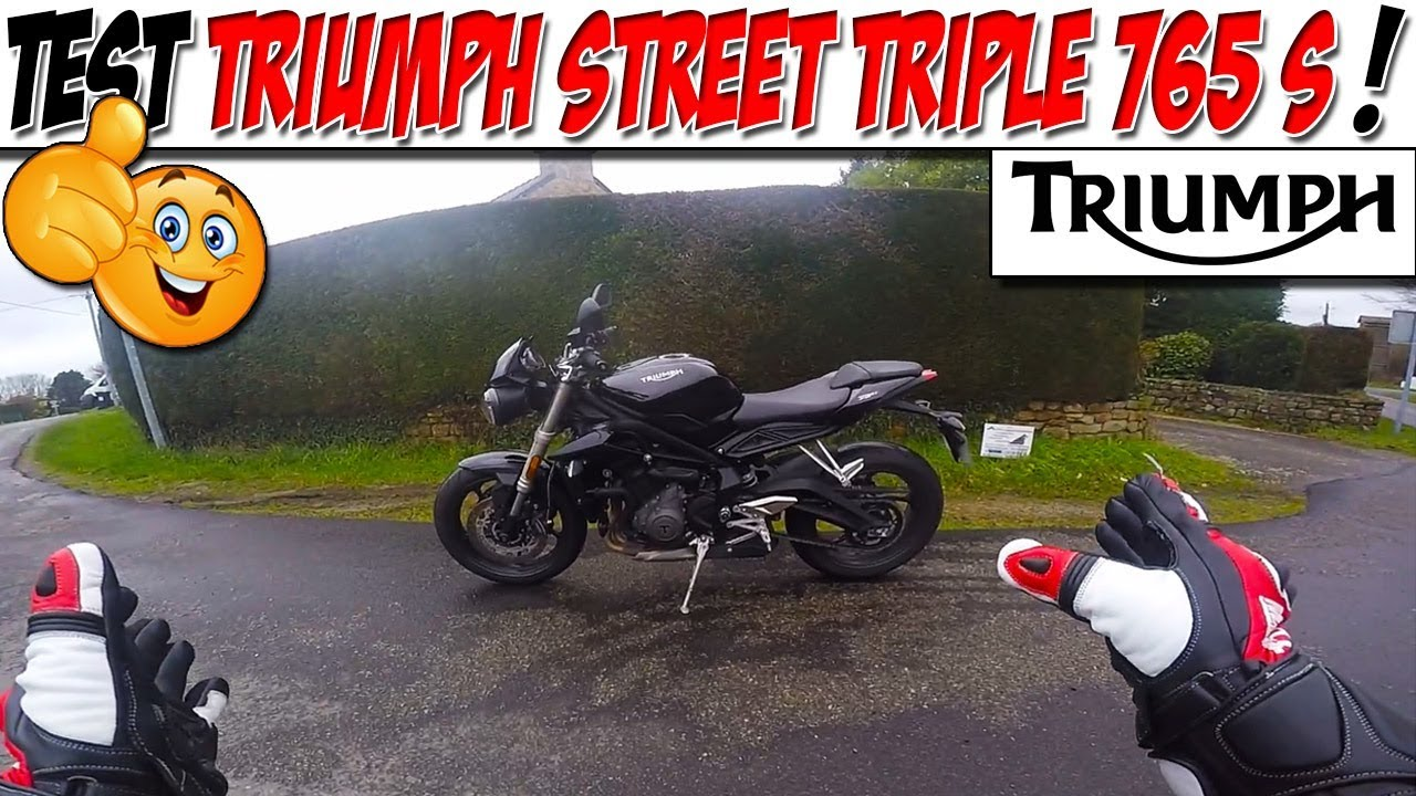moto vlog 125 test triumph street triple 765 s je remplace ma street r youtube. Black Bedroom Furniture Sets. Home Design Ideas