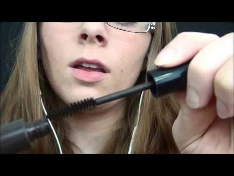 """[ASMR] Applying Mascara On You (Mic Brushing) """"Blink""""-(English)"""