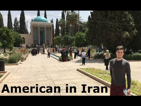 American in Iran - Tehran and Shiraz Travel