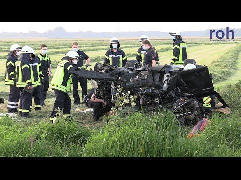 Wagenfeld: Schwerer Verkehrsunfall