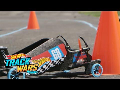 Sky Shock  Track Wars  Hot Wheels