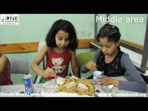 GAZA DAILY IFTAR MEALS PART 5 - RAMADAN 2016