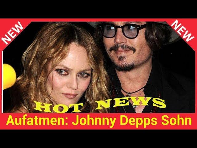 Aufatmen\: Johnny Depps Sohn Jack (16) geht\'s langsam besser!
