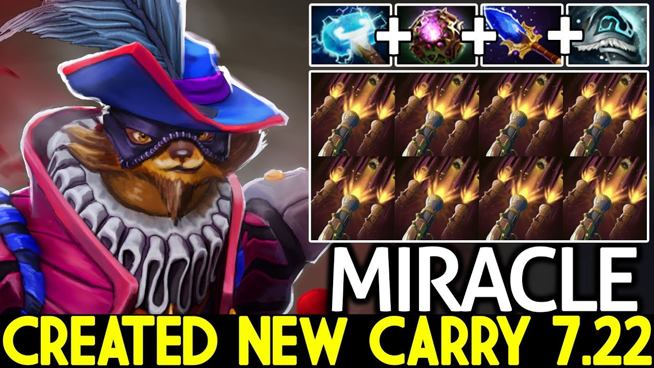 Miracle Pangolier Created New Carry Meta 7 22 What A Play Dota 2 Youtube