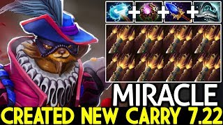 Miracle- [Pangolier] Created New Carry Meta 7.22 What a Play Dota 2