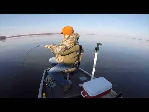 Rend Lake Vertical Jigging With MoFisher
