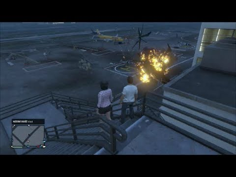 GTA 5 Fun With Medium Blue & Randoms