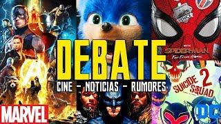 DEBATE NOTICIAS : Tercer visionado ENDGAME - SONIC TRAILER - JUSTICE LEAGUE SNYDER - Suicide Squad 2