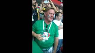 Германия vs Мексика. 2018  Победа Мексики, трибуна фанатов мексиканцев.