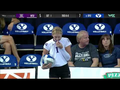 WCC Volleyball | Weber State At BYU | September 7, 2019