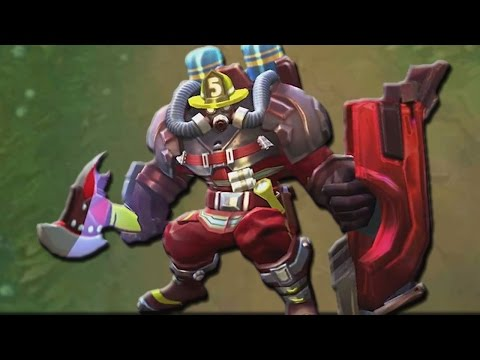 Mobile Legends AUTOBOT JOHNSON FIREMAN (New Skin)
