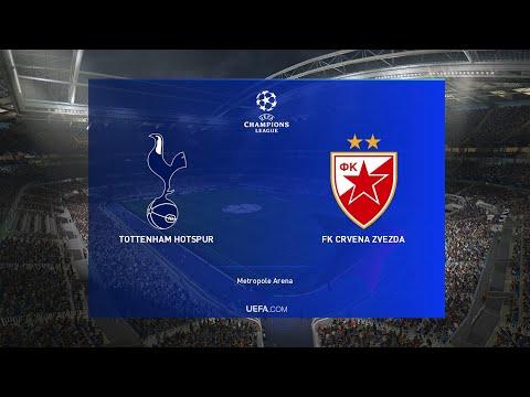Tottenham Hotspurs Vs Crvena Zvezda Uefa Champions League Matchday 3 Pes 2019