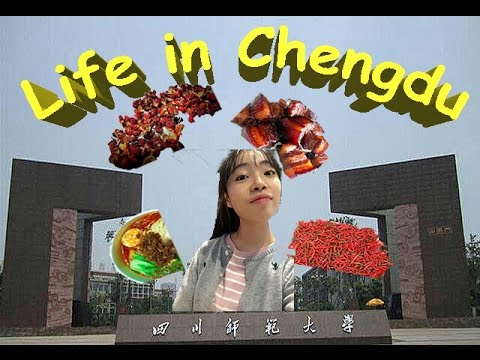 Life in Chengdu, China/ A Chinese Girl/ First Vlog