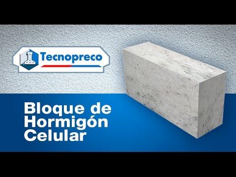 Muros con bloques de hormig n celular tecnopreco youtube - Ladrillos de hormigon ...