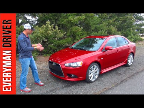 Review 2015 Mitsubishi Lancer GT on Everyman Driver  YouTube