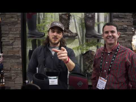 Muck Boots New Arctic Ice - SHOT Show 2017 EP. 3   The Sticks Outfitter