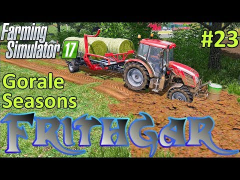 Let's Play Farming Simulator 2017, Gorale With Seasons #23: Bringing In The Bales!