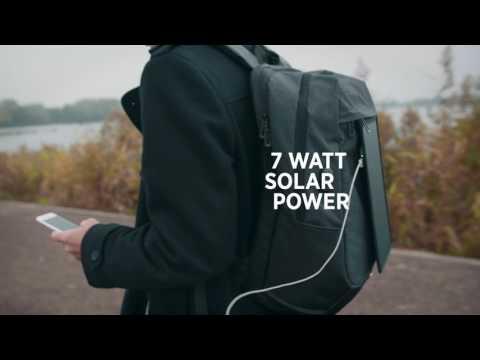 Рюкзак для ноутбука Swiss Peak на солнечных батареях, арт. P762.121