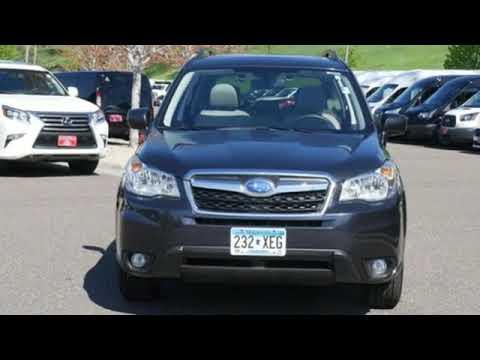 Used 2015 Subaru Forester Minneapolis MN Eden Prairie, MN #190162B5 - SOLD