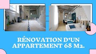 Rénovation d'un appartement 68 m2 dans le Marais (avant-après)