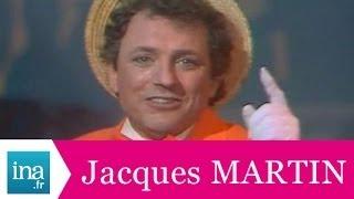 """Jacques Martin """"L'enfant de la balle"""" (live officiel) - Archive INA"""