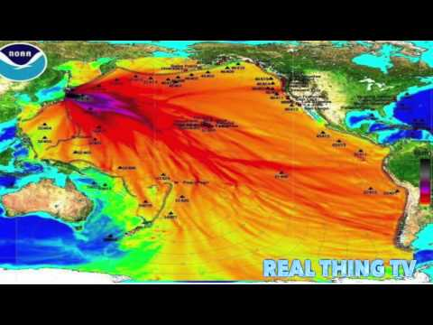 Media reports on warm 'blob' in Pacific Ocean Radioactive!