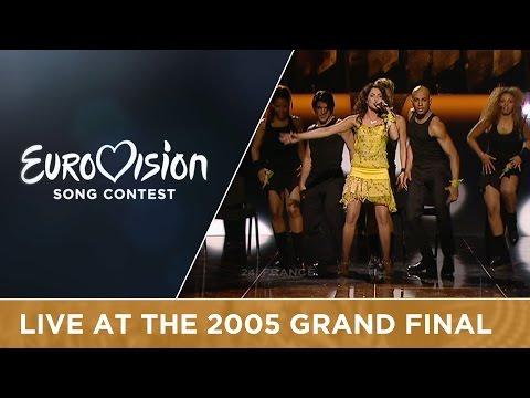 Ortal - Chacun Pense à Soi (France) Live - Eurovision Song Contest 2005